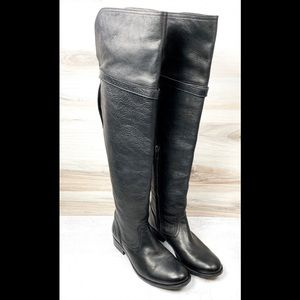 Frye Molly Leather Over the Knee Boots - 6B